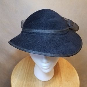 Vintage Saks Fifth Avenue Hat with Bow